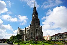 Catedral Nossa Senhora de Lourdes, uma das atrações turísticas de Canela.