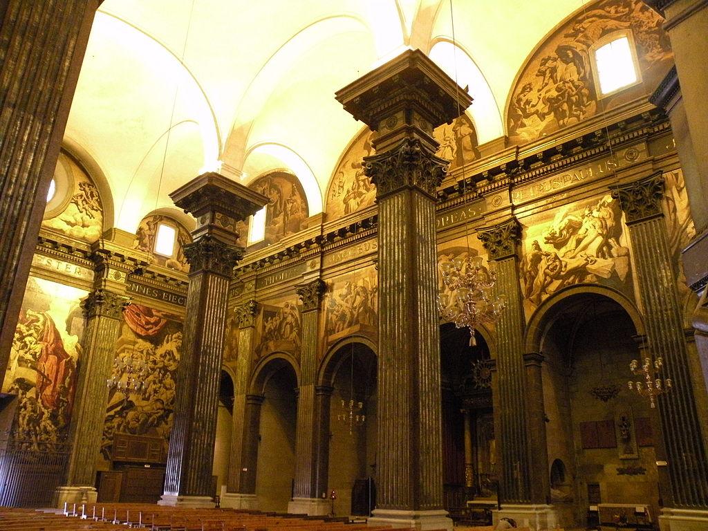 File catedral de vic interior 2 jpg wikimedia commons for Catedral de durham interior