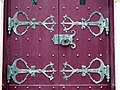 Cathedral of Saint Mary of the Immaculate Conception (Peoria, Illinois) - cathedral doors.jpg