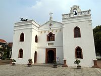 Catholic Church of Wanchin (external)