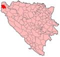 Cazin Municipality Location.png