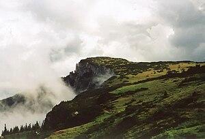 Bistrița Mountains - Ocolaşul Mare Peak, in the Ceahlău Massif