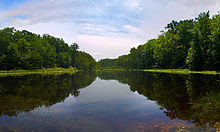 Cedarville State Forest Pond in Waldorf, Maryland.jpg