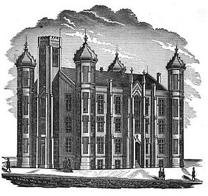 Central Visual and Performing Arts High School - The first purpose-built Central High School building opened in 1855.