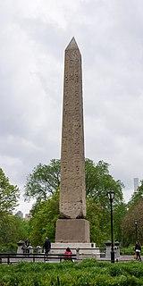Egpytian obelisk in New York