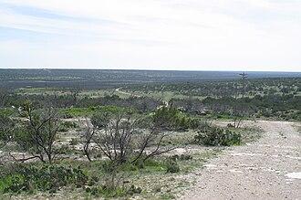 Stiles, Texas - Image: Centralia Draw 2004
