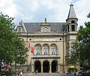 Cercle Municipal - The Cercle-Cité on the Place d'Armes in the centre of Luxembourg City