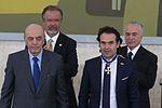 Cerimônia de entrega de medalhas a colombianos - Temer, Jungmann Serra & Gutiérrez 2.jpg