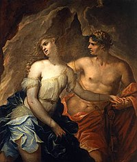 Orphée et Eurydice, par Federico Cervelli