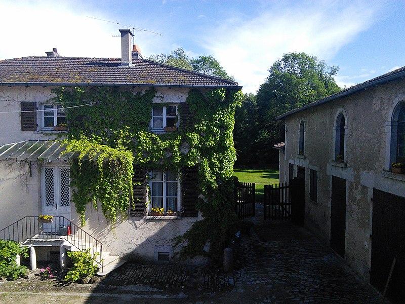 Château de Choloy. Choloy-Ménillot, dép. Meurthe-et-Moselle, France.