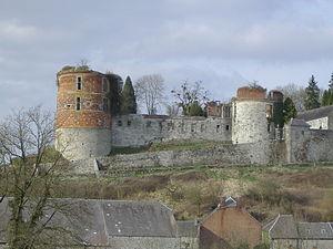 Château de Hierges - Image: Château hierges 002