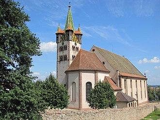 Église Saint-Georges de Châtenois - Église Saint-Georges de Châtenois