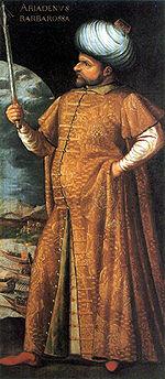 Khayr ad-Din Barberousse, bey d Algérie au XVIème siècle