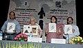"Chandresh Kumari Katoch releasing the brochure of the Volunteer Guide Programme ""Path Pradarshak"" of National Museum, in New Delhi on April 22, 2013. The Secretary Culture, Smt. Sangita Gairola is also seen.jpg"