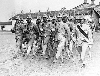 Warlord Rebellion in northeastern Shandong - Image: Chang Tzung chang's soldiers