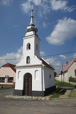 Chapel in Radkovice u Budče, Třebíč District.JPG