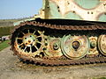 Char Tigre de Vimoutiers 2012-02 tank track 5.JPG