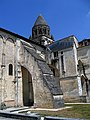 Charente-Maritime Saintes Abbaye Dames Eglise Sainte-Marie Cote Est - panoramio.jpg