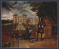 Charles II receiving a pineapple, 1675.png