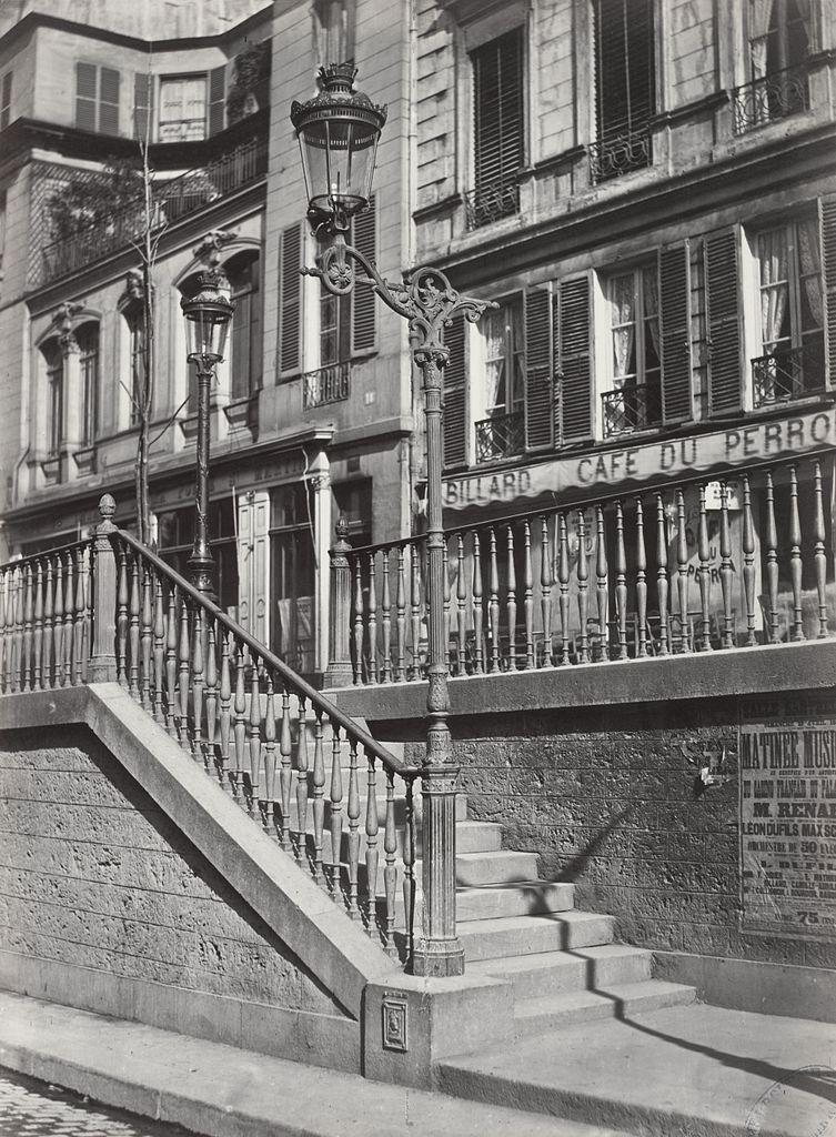 fichier charles marville escalier du boulevard saint martin wikilivres. Black Bedroom Furniture Sets. Home Design Ideas