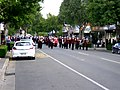 Charles Sturt University Town and Gown academic procession down Baylis Street.jpg