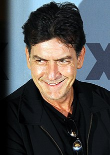 Charlie  Sheen - the weird, spoiled,  actor  with Irish, Spanish,  roots in 2019