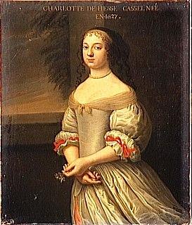 Landgravine Charlotte of Hesse-Kassel Electress Palatine