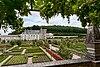 (Château de Villandry (France) vu des jardins)