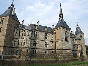 Sully Castle, Sully, Saone et Loire, Burgundy,...