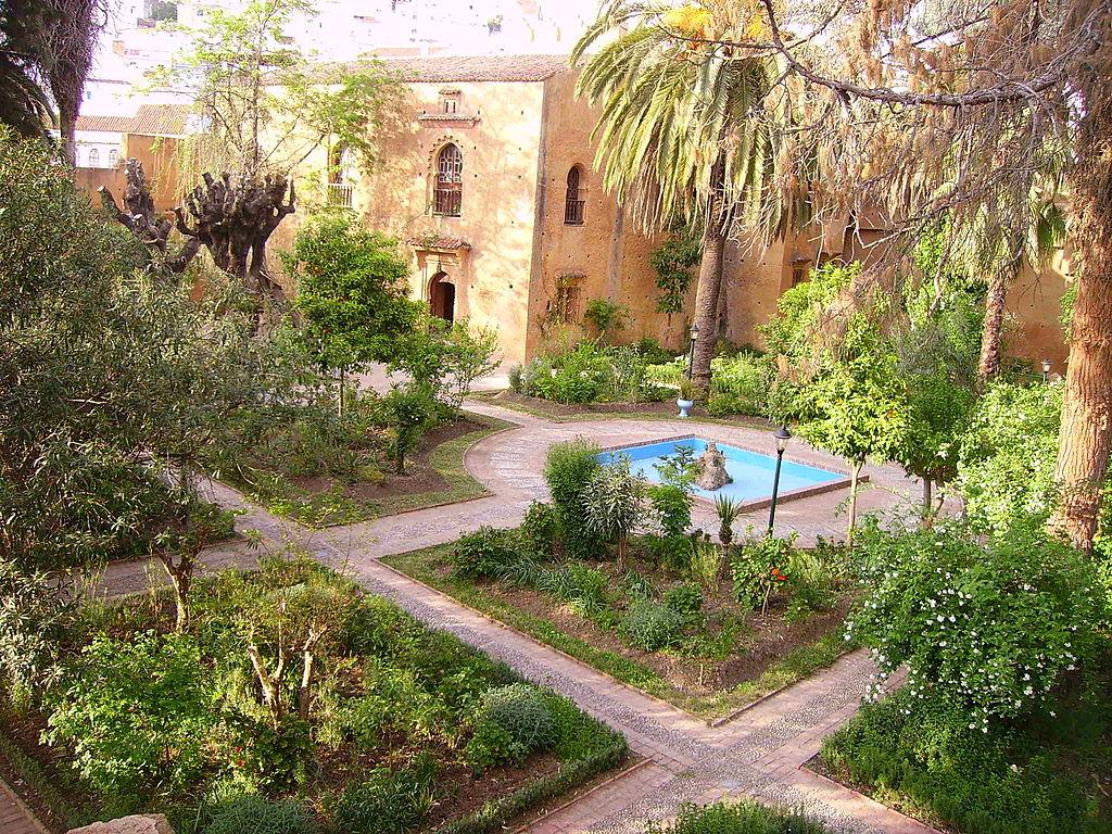 File Chefchaouen Les Jardins De La Kasba Jpg Wikimedia