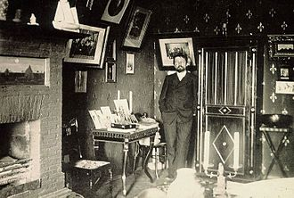 White Dacha - Chekhov in the study at the White Dacha