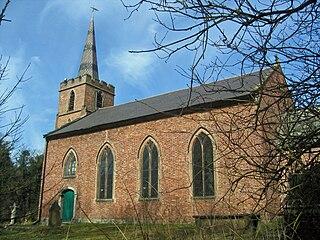 St John the Evangelists Church, Chelford Church in Cheshire, England