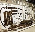 Chemical warfare exhibit on Defense Train, Washington D.C., November 10, 1941 (34596023782).jpg