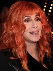 Head-and-shoulders colour photograph of Cher in 2011.