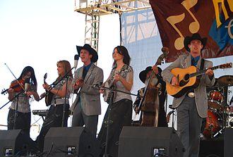 Huck Finn Jubilee - Image: Cherryholmes @ 2007 Huck Finn Festival 1