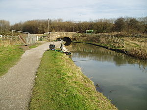Chesterfield Canal - Mill Green Bridge was the head of navigation of the western section prior to the opening of Staveley Basin in early 2012.