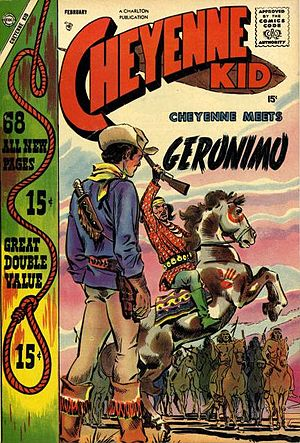 Cheyenne Kid No 11 Charlton, 1958 SA