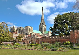 Chichester Cathedral - Image: Chichester Cathedral epodkopaev