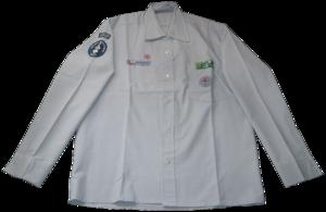 Asociación de Guías y Scouts de Chile - Uniform shirt of the Asociación de Guías y Scouts de Chile