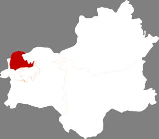 Shuncheng District District in Liaoning, Peoples Republic of China