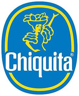 Chiquita Brands International Swiss company that distributes produce