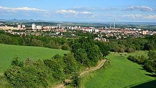 Chomutov Town in Czech Republic