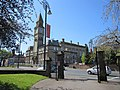 Chorley town hall from St Laurence's churchyard - geograph.org.uk - 2397540.jpg