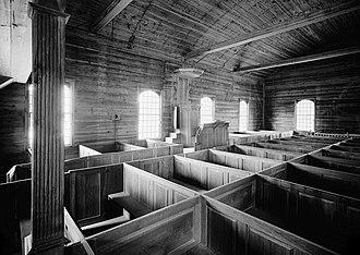 Old Christ Church (Laurel, Delaware) - Christ Church in 1960