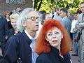 Christo und Jeanne-Claude, Rostock 2006.JPG