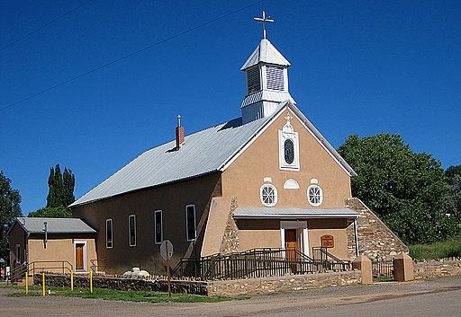 Church, Galisteo, New Mexico