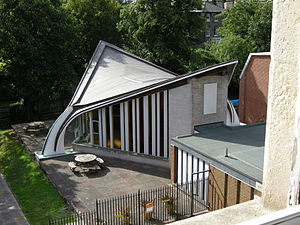 Saddle roof - Image: Church Army chapel 042