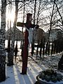 Church Brynów cross.JPG