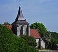 Church in Sarton, Pas de Calais, France.jpg