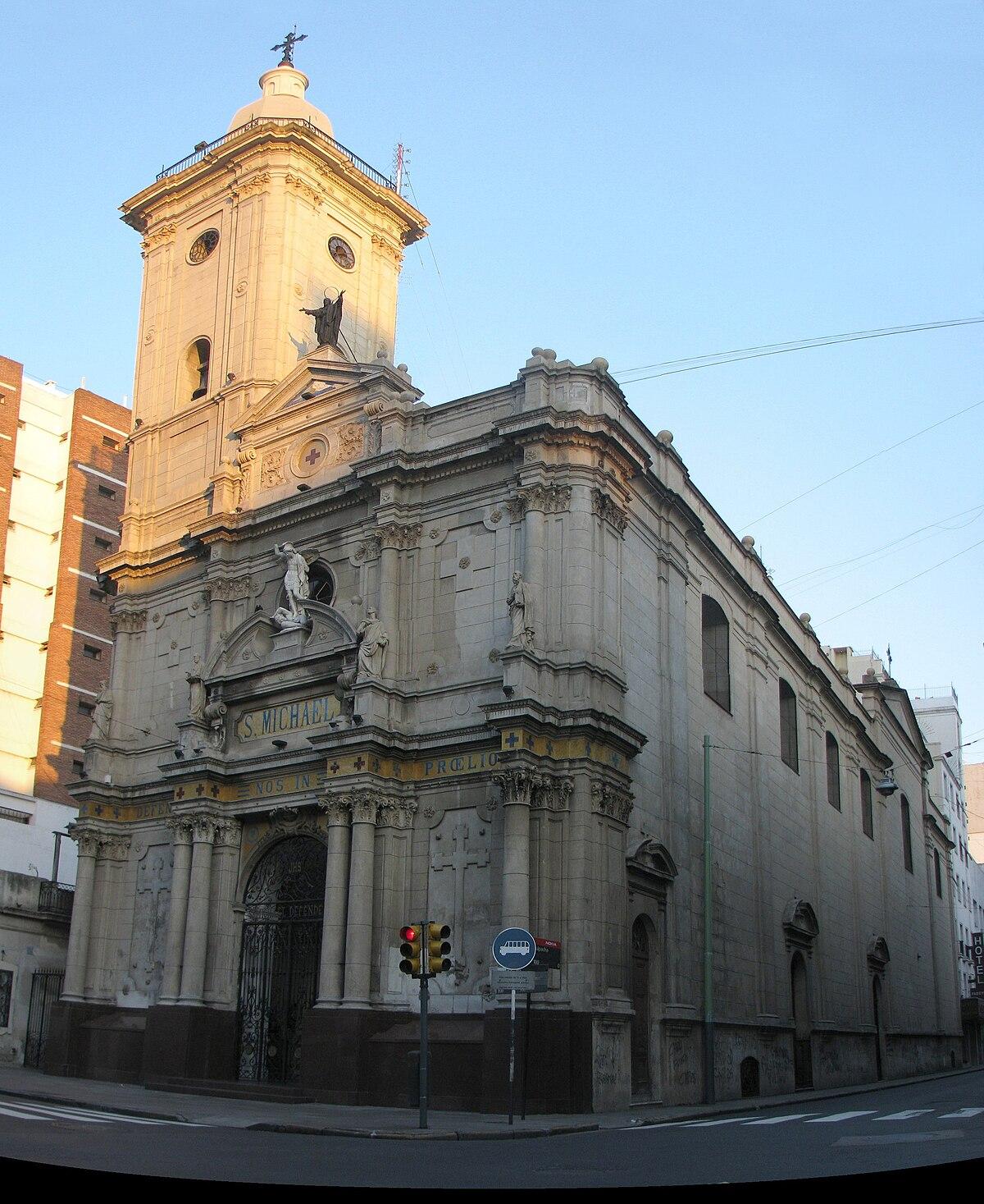 Iglesia De San Miguel Buenos Aires Wikipedia La